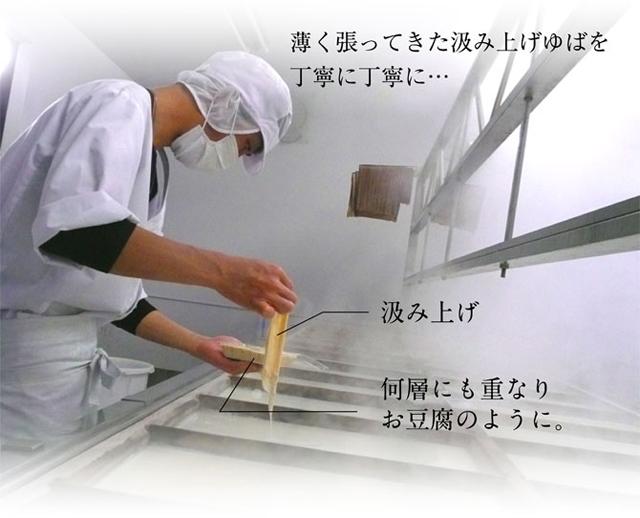 ゆば豆富製造